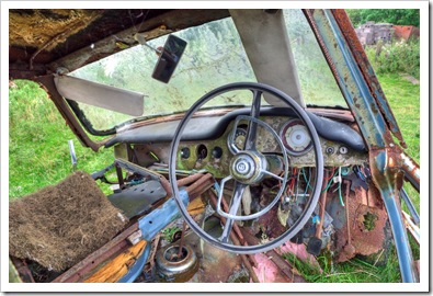 old wolseley rotting away