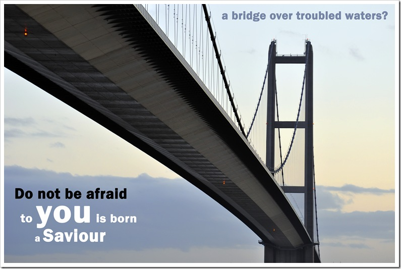 humber bridge close up of south tower and deck at dusk do not be afraid