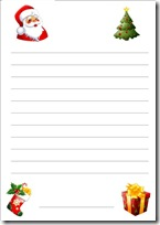 Letter To Santa Paper 1