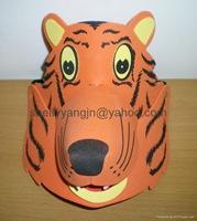 máscaras hecha con Goma eva