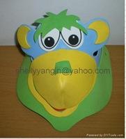 máscaras hecha con Goma eva (2)