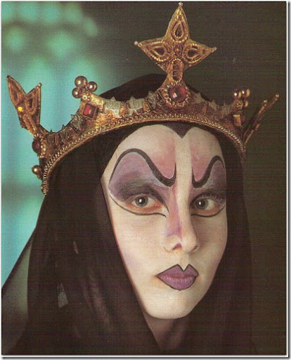 Maquillaje de bruja mala