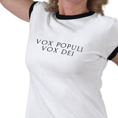 Vox populi vox dei adalah hoax