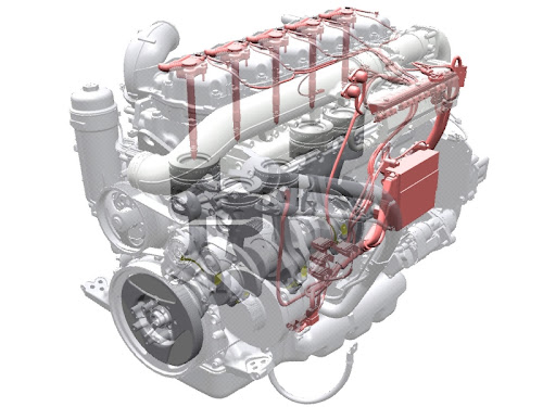 Scania CNG. Silnik na gaz ziemny (silnik gazowy Scania)