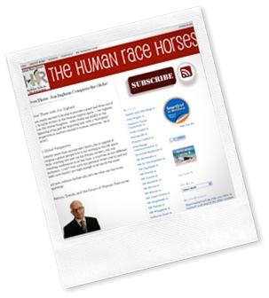 Human race horses