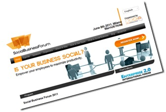 Social Business Forum Milan