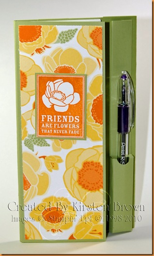friends notebook