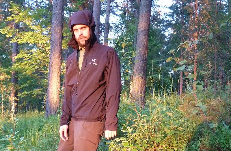 Arc'teryx squamish hooded jacket men's