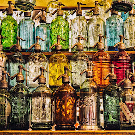 by Albert Elgert - Artistic Objects Antiques ( colour, siphon, street, glass )