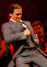 Flamenco dancer Farruco from the dance group Los Farruco