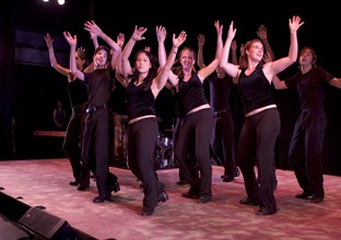tap kids in performance