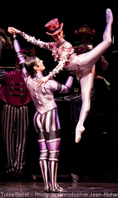 Tulsa Ballet -- Elite Syncopations, Photo by Christopher Jean-Richard