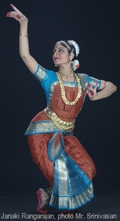 Janaki Rangarajan, photo by Srinivasan
