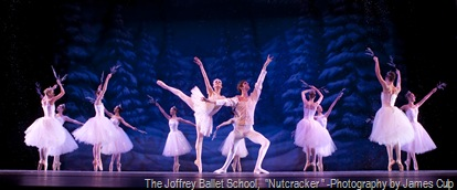 "The Joffrey Ballet School,  ""Nutcracker "" -Photography by James Culp"