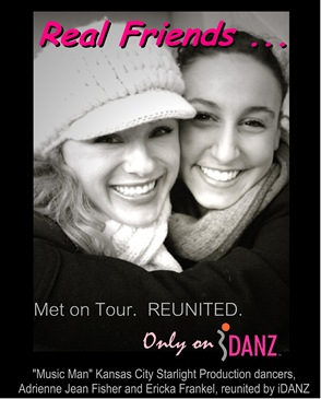 Real Friends, Real Pros, Real Dancers....  Only on iDANZ!