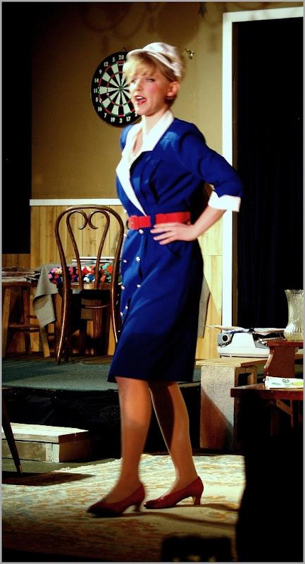 #10 Full Blue Dress