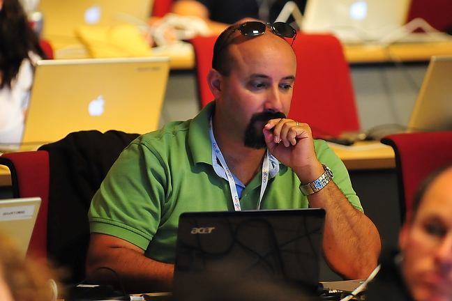 Danny Silva at the Google Geo Teachers Institute