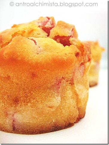 Appetizer Muffins Salati Prosciutto Cotto e Provola Dolce 2