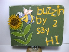 Bubble Bee Card