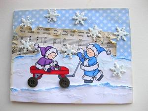121709 Snowbaby Santas M&M Designz