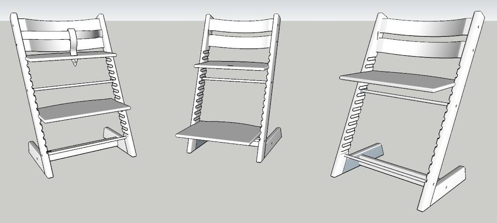 Baby- kid- adult chair: Stokke Tripp Trapp • sketchUcation • 1