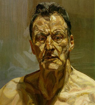 Lucian freud.reflection