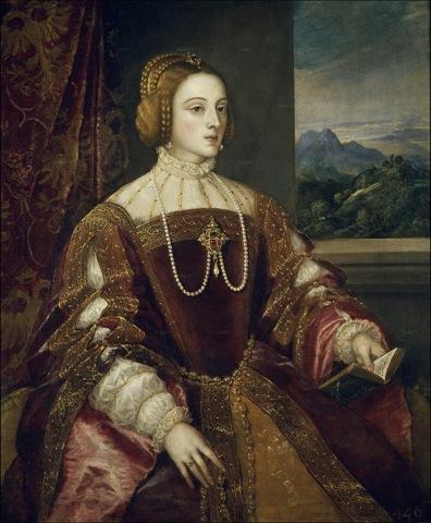 La emperatriz Isabel de Portugal de Tiziano (1548)