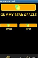 Screenshot of Gummy bear oracle