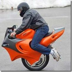 one wheel motobike