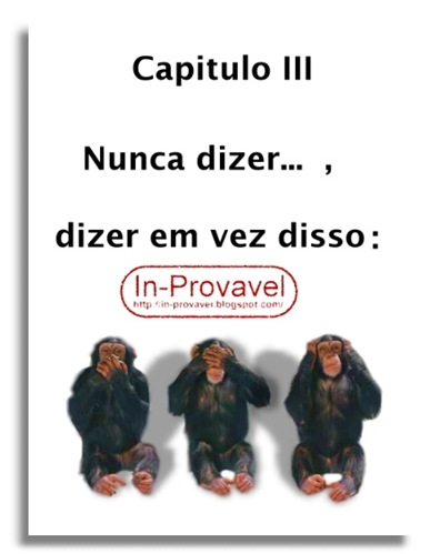 IN-PROVAVEL MACACO POLITICAL