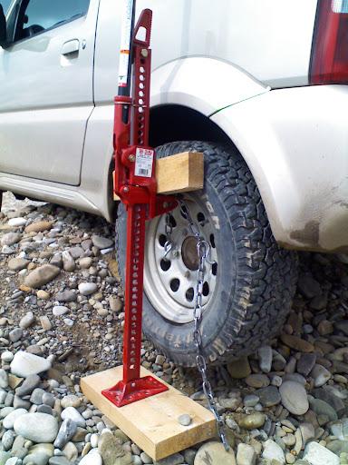 Как сделать зацепы на колеса