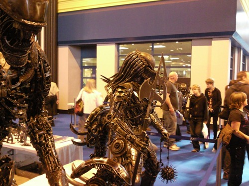 Life size Alien and Predator