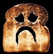 Toast Sad Face