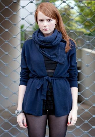 theperfectbluecardi scarf