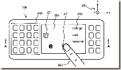 Nokia's 3D Multi Touch Patent