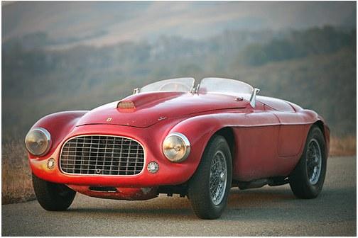 Ferrari Barchetta cabriolet