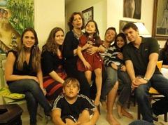 Regina e netos