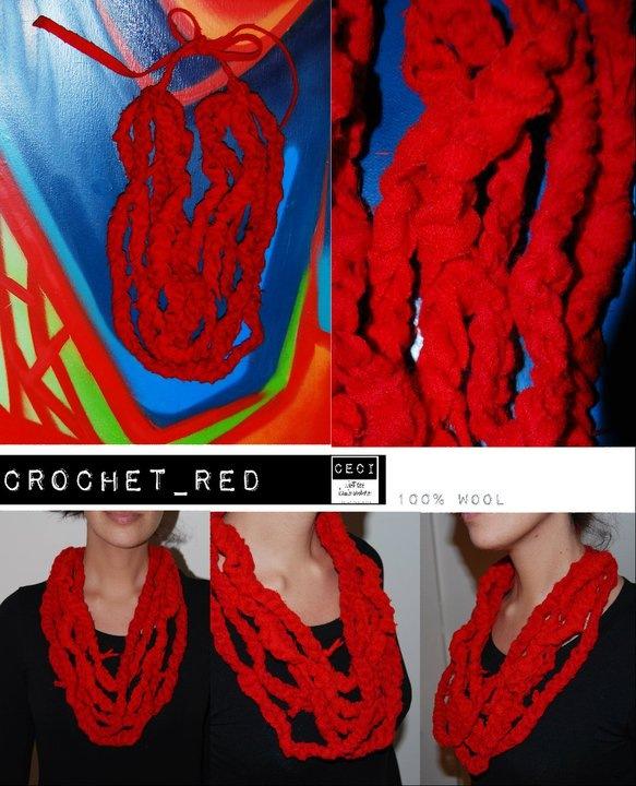 crochetred