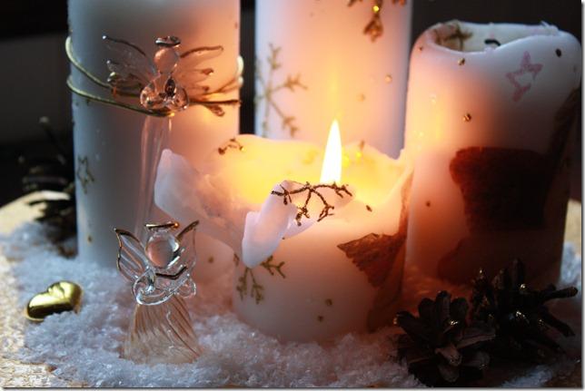 adventstake hvite lys jul gull IMG_9310