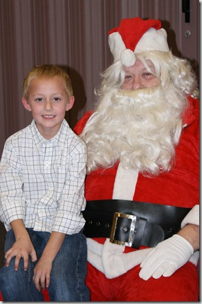 coop with santa