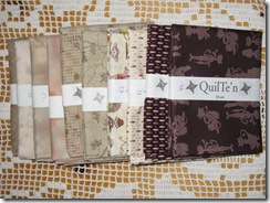 fabrics from QuilTe'n