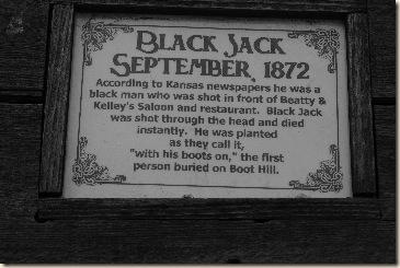 black jack bw