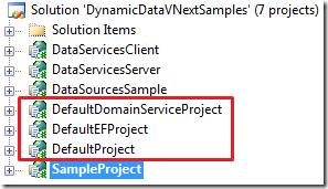 Defaul Project files