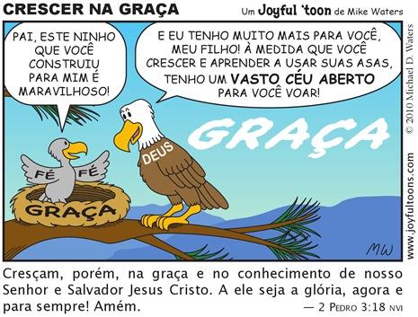Joyful 'toon 148_Grow in grace PT.BR