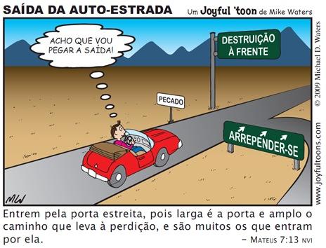 Joyful 'toon_Saída da auto-estrada