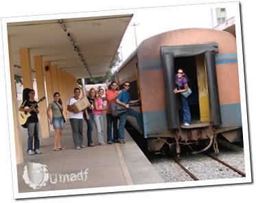 Evangelismo no trem UMADF 2