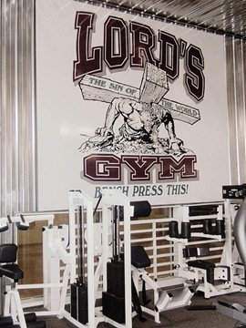 Lords gym (academia do Senhor)