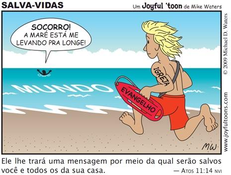 Joyful 'toon 136_Lifeguard PT.BR