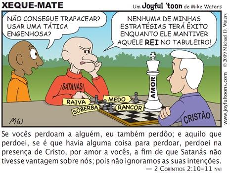 Joyful 'toon 138_Checkmate PT.BR