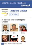 Screenshot da widget de nossa Página de Fãs